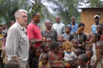 Hartmut Heuser im Kongo